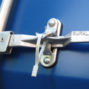 Metal Flat End Seal Guard Lock